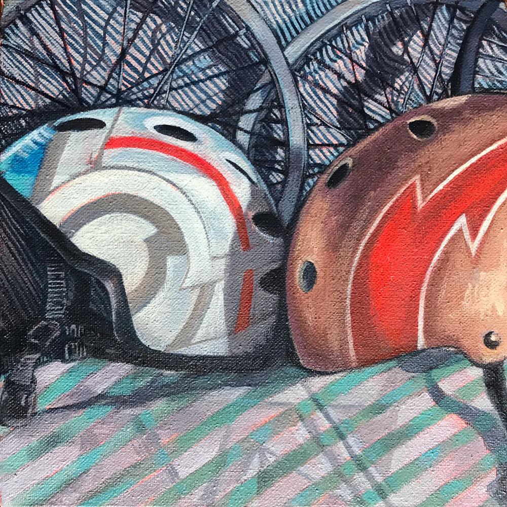 Repetition Spokes & Helmets